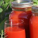 томатный сок в банках