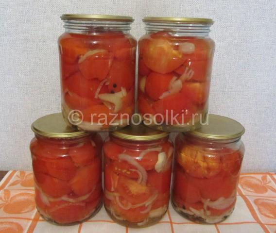 баночки 0,7 с салатом
