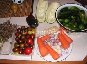 Набор овощей для маринования