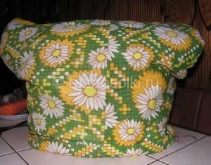 Банки с овощами под теплым одеялом