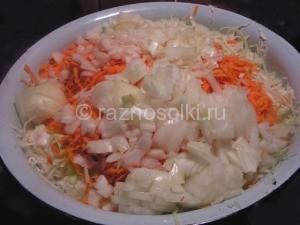лук в зимнем салате