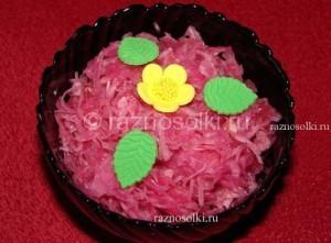 Салат из капусты на каждый день