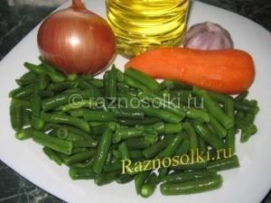 Ингредиенты для приготовления спаржи