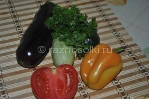 ингредиенты для рататуй