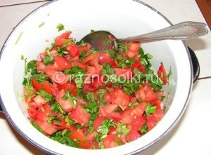 Овощи нарезанные для заморозки