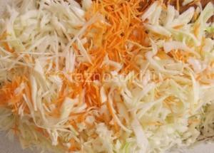 морковь шинкованная для заквашивания
