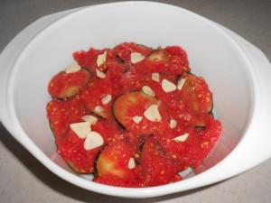 слой томатов