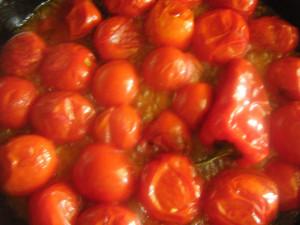 жарка помидор