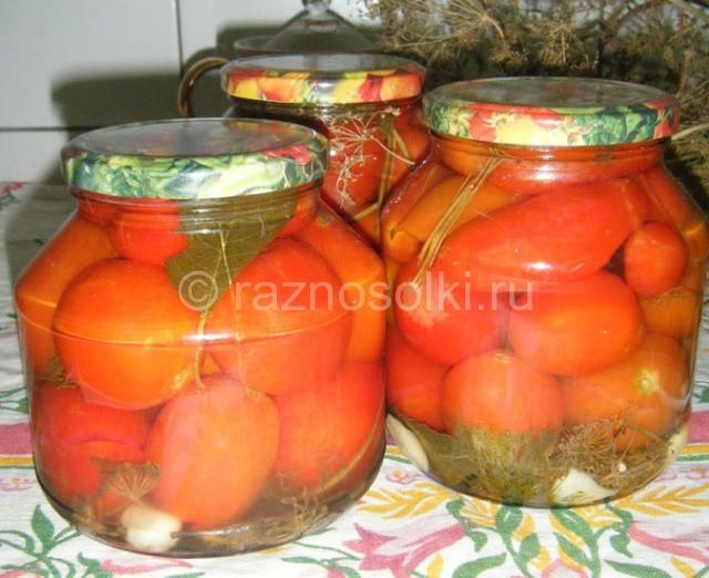 томаты без сахара