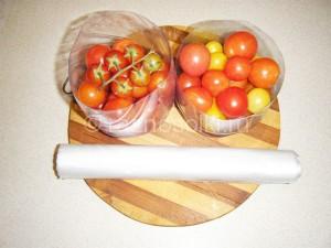 томаты в емкостях для заморозки