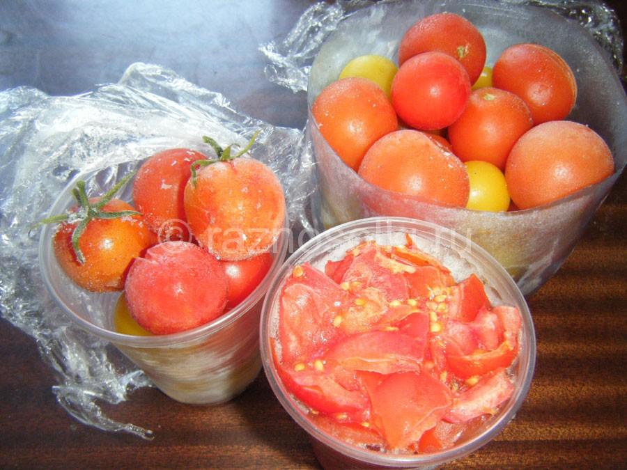 Замороженные помидоры в домашних условиях 631