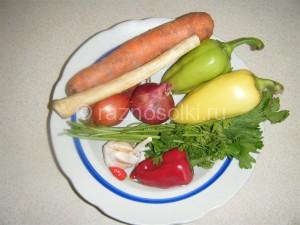 овощи для зимней закуски