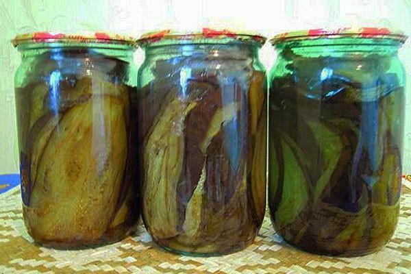 Баклажаны в маринаде на зиму рецепты