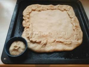 пирог на противне