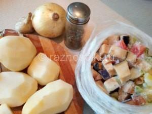 ингредиенты для рагу