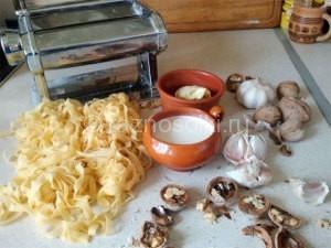 продукты для домашней лапши