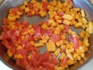 тыква с томатами