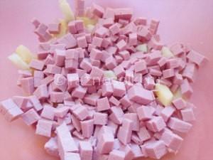 колбаса кубиками