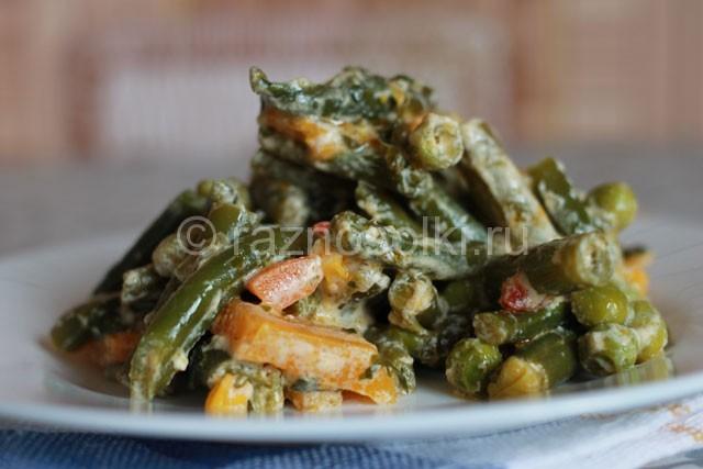 Тушеные замороженные овощи рецепты