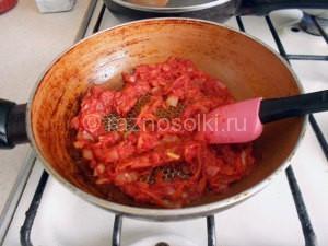 пассировка моркови с луком
