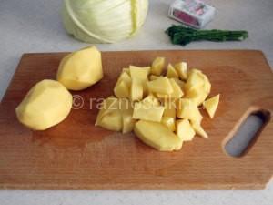 картофель для щей