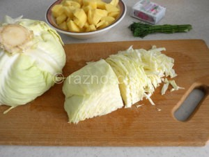 шинковка капусты для щей
