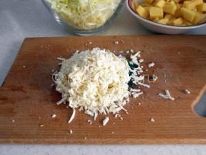 измельченный плавленный сыр