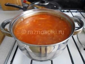 томатная паста в щях