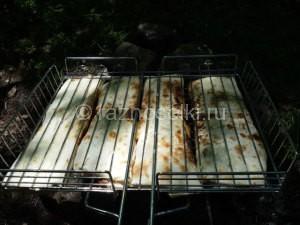 поджаренные роллы из лаваша