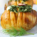 картофель Гармошка