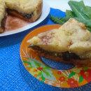 кусок пирога со щавелем
