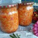 Салат с рисом и овощами на зиму