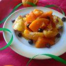 Тыква с мандаринами