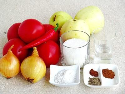 Продукты для кетчупа