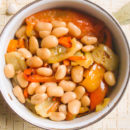 Фасоль с овощами на зиму