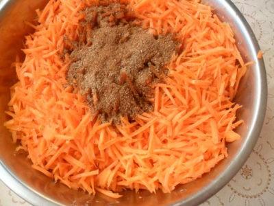 Специи к моркови по-корейски