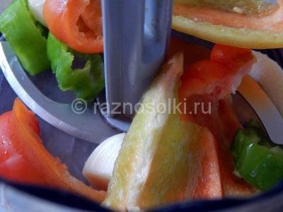 Овощи в блендере