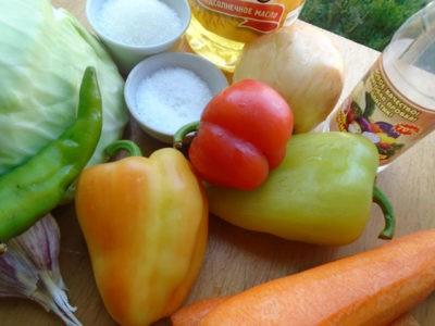Овощи для зимних заготовок