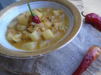 Перчик в супе из маша