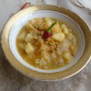 Острый суп из чечевицы