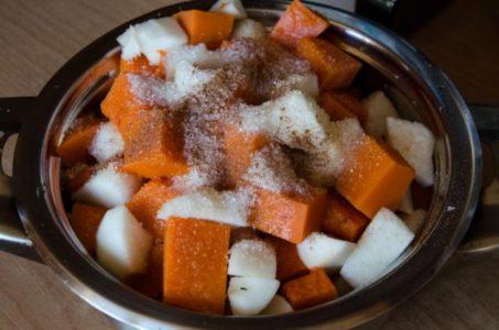 Сахар и корица для тыквы