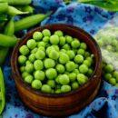 Заморозка зеленого горошка