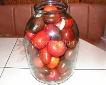 Сколько помидор в 3-х литровых банках