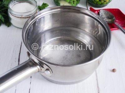 Соляной раствор для маринада