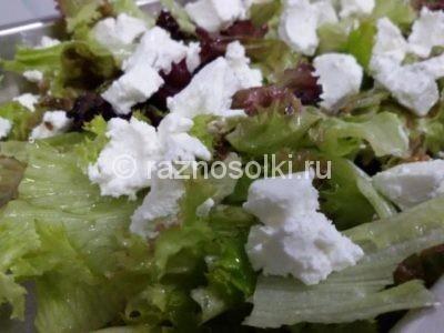 Сыр фета в салате