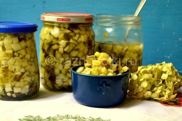 Огурцы для салатов на зиму