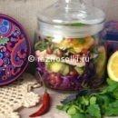 Салат из капусты в банке