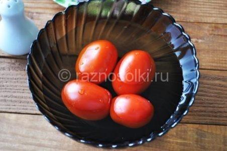 мытые томаты