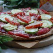 Пицца творожная