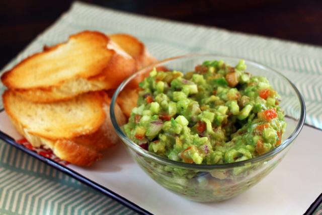 Гуакамоле с овощами